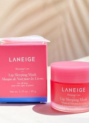 Ночная маска для губ laneige lip sleeping mask 20 гр