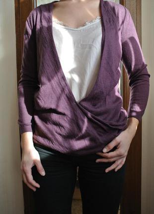 Цена снижена!!чудесный свитер-майка в бельевом стиле,кружево,шерсть мериноса,next10,s