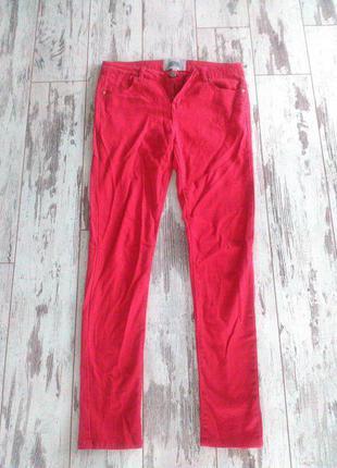 Женские джинсы, цвет красный, размер 10, 42-44