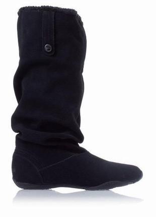 Замшевые сапоги adidas (оригинал)