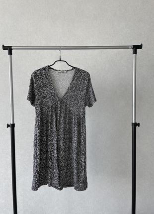 Платье сарафан из вискозы pull&bear