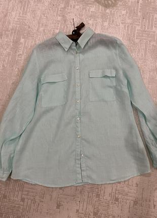 Рубашка лён