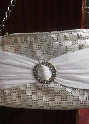 Мини сумочка-клатч
