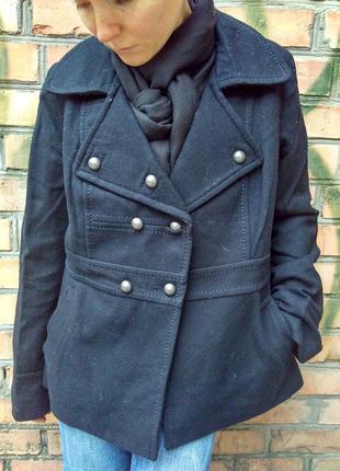 Пальто h&m / 60% шерсть