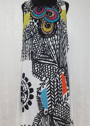 Desigual нарядное шифоновое платье
