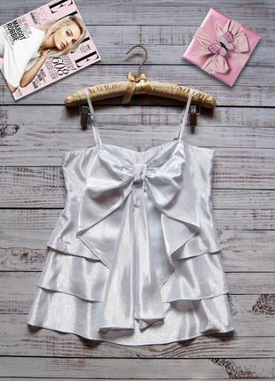 Блуза топ нарядная с перламутровым блеском