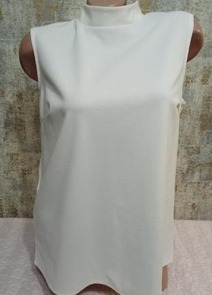 Классная летняя блуза с воротом