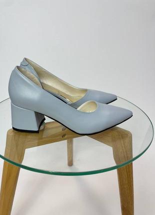 Эксклюзивные туфли лодочки итальянская кожа и замша люкс качества