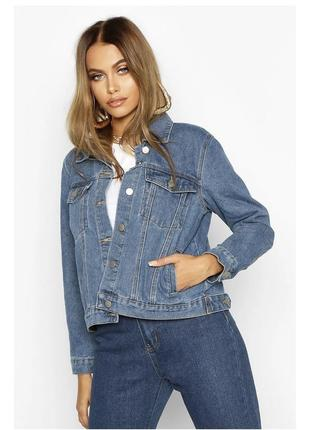 Базовая джинсовка торга нет