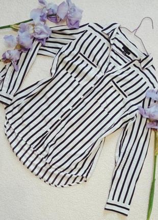 Рубашка в полоску, блуза в полоску, кофта в полоску, сорочка в полоску