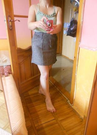 Юбка серая8 фото