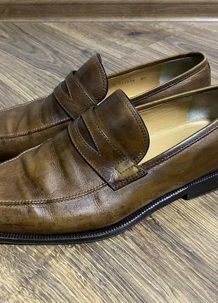 Туфли кожаные мужские tanino crisci