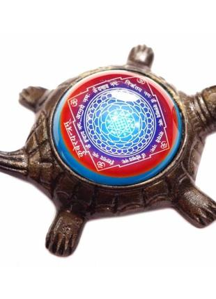 Статуэтка курма кубер янтра на черепахе