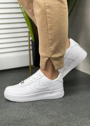 🔥женские кроссовки nike air force white