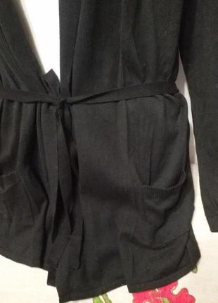 Кардиган с карманами под пояс (пог 47-55 см)  63