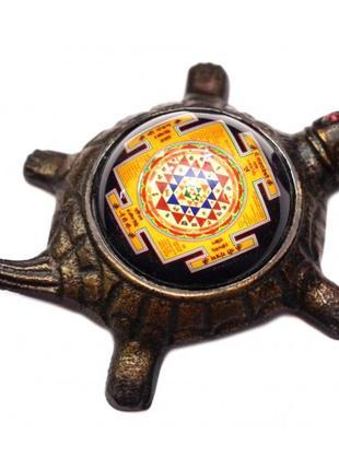 Статуэтка буддистская курма шри янтрана на черепахе