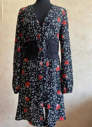Стильное платье , платье халат
