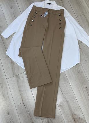 Новые шикарные брюки кюлоты mango