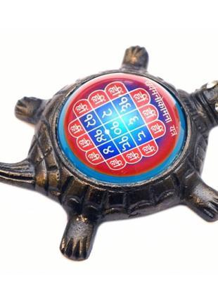 Статуэтка курма мано камна янтра на черепахе