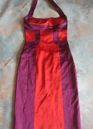 Атласное платье от karen millen