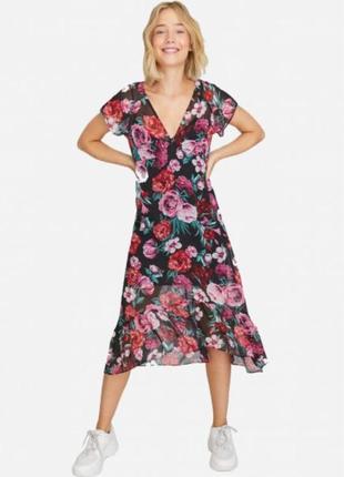 Платье в цветочный принт asos h&m asos manro f&f