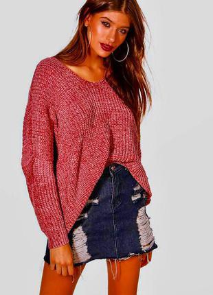 Объемный тёплый свитер в идеальном состоянии