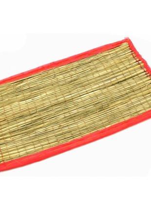 Циновка для медитации из травы куша