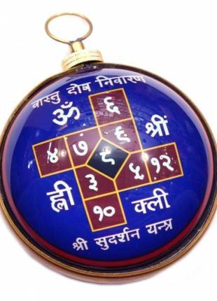 Сувенир настенный янтра васту дош ниваран под стеклом