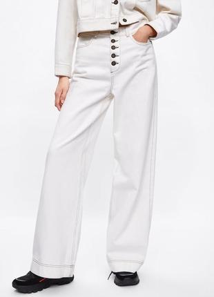 Стильные летние джинсы zara