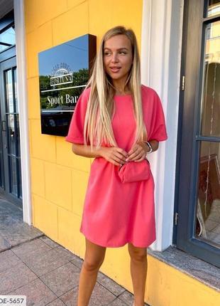 Платье с сумкой на поясе 🔥🌸