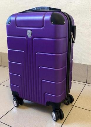 Чемодан s (55x21x38) фиолетовый