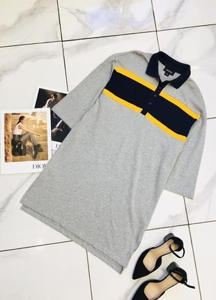 Стильное оверсайз платье - футболка оригинал от monki