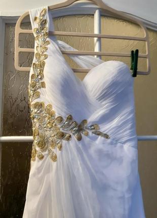 Вечернее платье в пол. платье на выпускной. торг