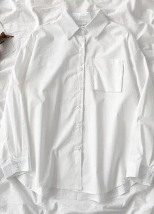 Рубашка белая , блузка
