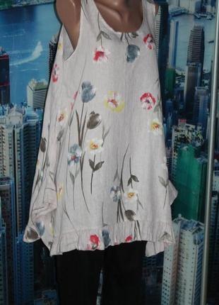 Плаття блуза туніка 100 % льон