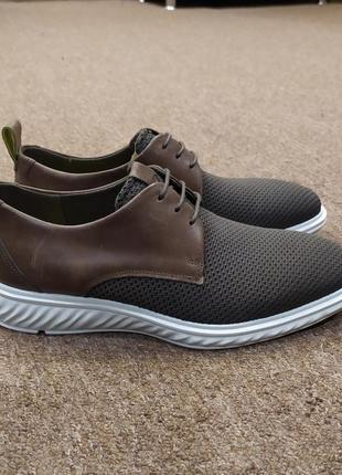 Мужские стильные туфли ecco (экко)  837264/57181