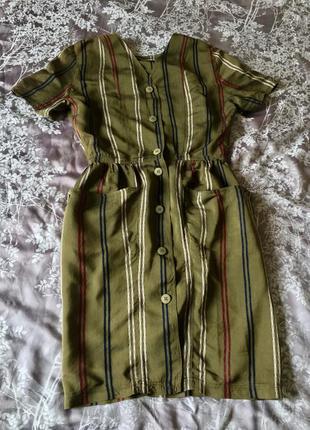 Krizia jeans оригинал италия винтаж идеальное платье халат рубашка оливковое хамелеон брендовое