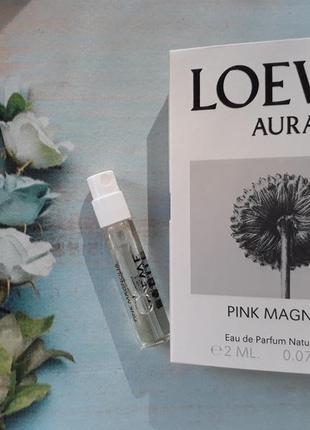 Пробник loewe aura pink magnolia