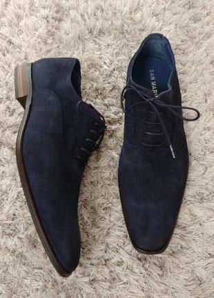 Туфлі dodison від san marina нат.замш р.42.
