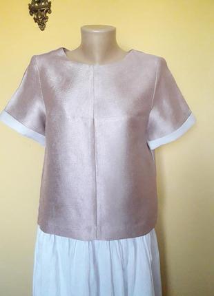 Красивая бежевая  блуза