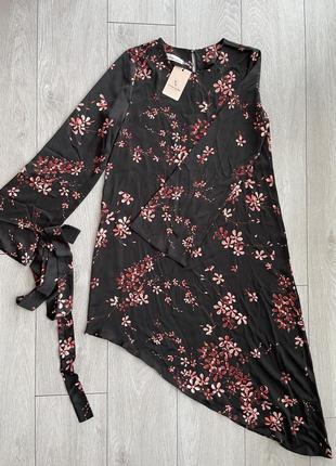 Новые шелковое платье фирмы vivid store, размер м.