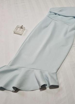 Шикарное платье с воланами asos размер м