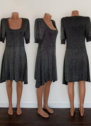 Нарядное * металлическое* платье от бренда george. размер m - l.