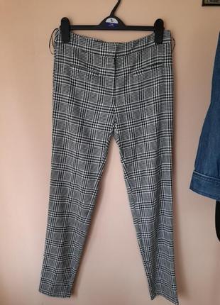 Шикарные штаны в гусиную лапку