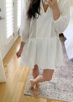 Новое хлопковое платье, туника, пляжное платье h&m