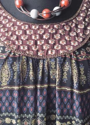 Оригинальное стильное платье в стиле бохо