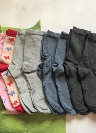 Качественные носки из хлопка, разные модели 35-38 тсм tchibo.