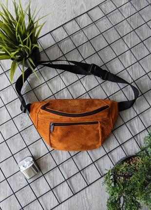 Яркая бананка барсетка эко-сумка унисекс летняя городская дорожная спортивная б37