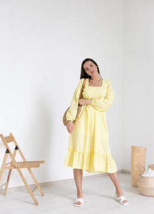Сукня бавовняна, плаття, платье натуральное