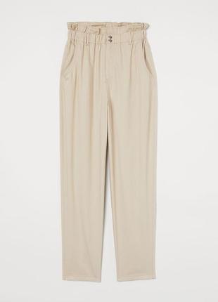 Новые хлопковые брюки h&m. размер 44.